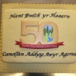 Brilliant 50th Cake by Claire Kerrigan